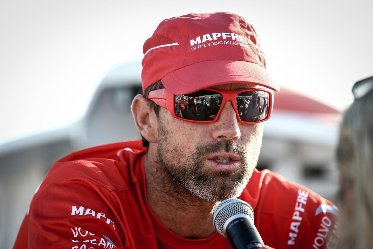Francois Nel/Volvo Ocean Race