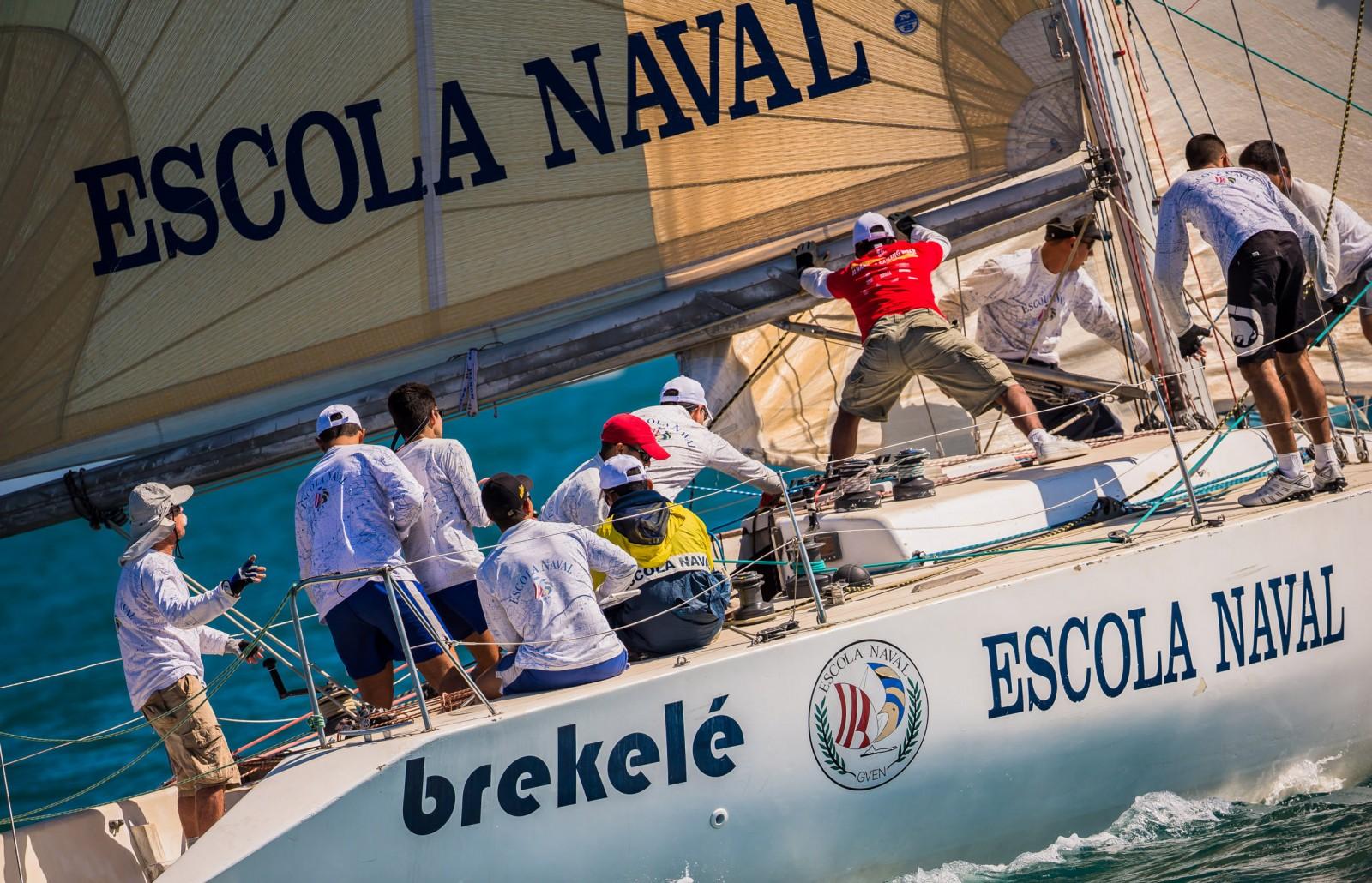 Veleiro Brekelé, da Marinha - Marcos Mendez/sailstation.com