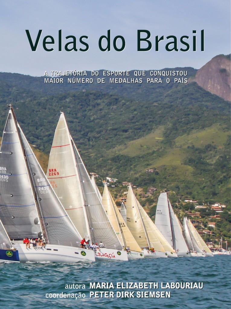 Capa do livro Velas do Brasil/Divulgação