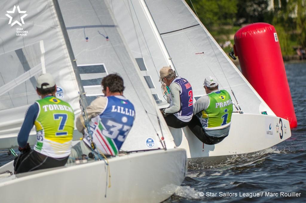 Duelo brasileiro no Lago Alster (Marc Rouiller/SSL)