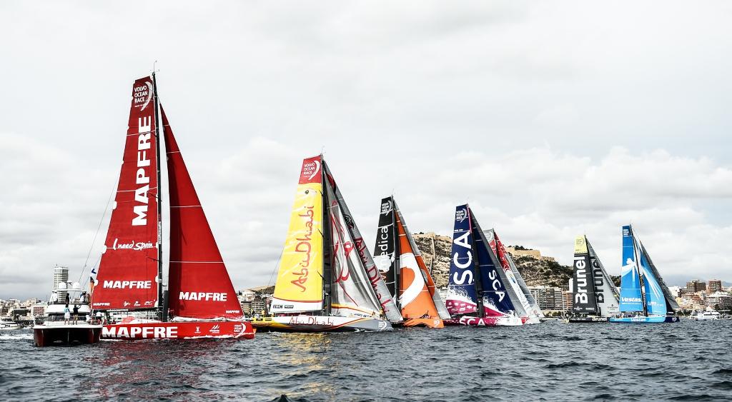 Foto: David Ramos/Volvo Ocean Race
