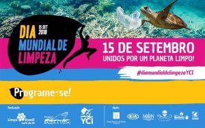 Semana de Vela de Ilhabela no Dia Mundial de Limpeza