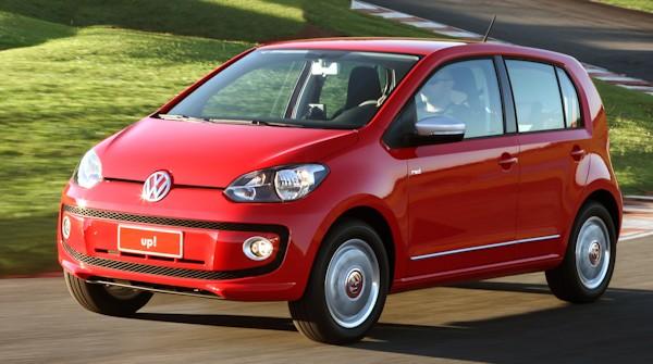 """up!: Volkswagen comemora sua chegada ao """"top ten"""""""