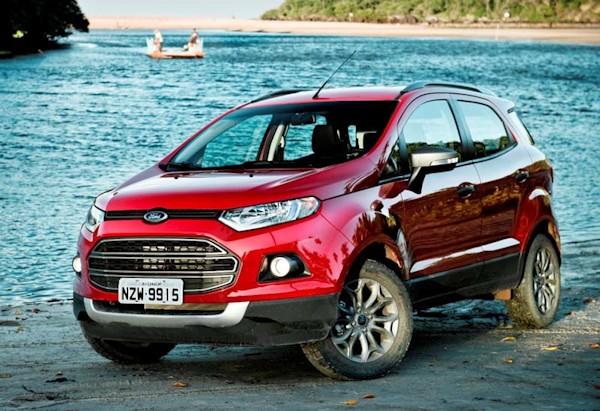 Ford EcoSport: só andamos nele no lançamento