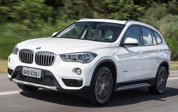 BMW X1 fabricado em Araquari (SC): rumo aos Estados Unidos