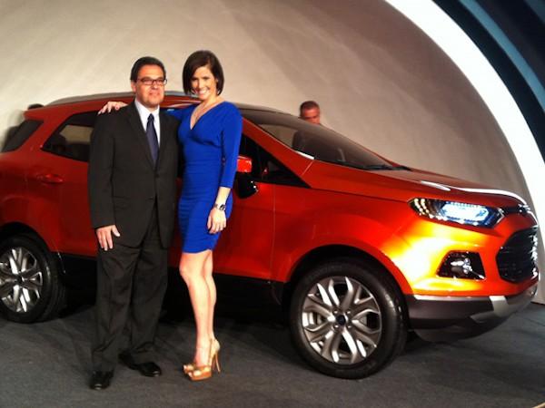 Deborah Secco no lançamento do EcoSport em 2012