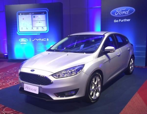 A apresentação do Sync 3, da Ford, em São Paulo
