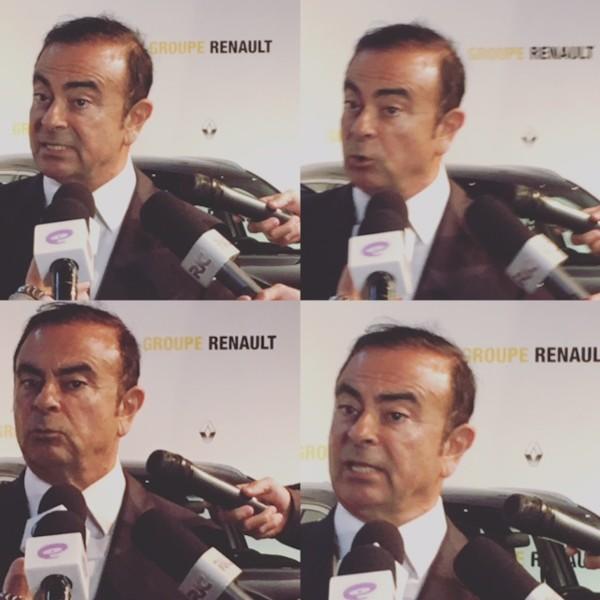 "Ghosn: ""Renault, Renault, Renault"""