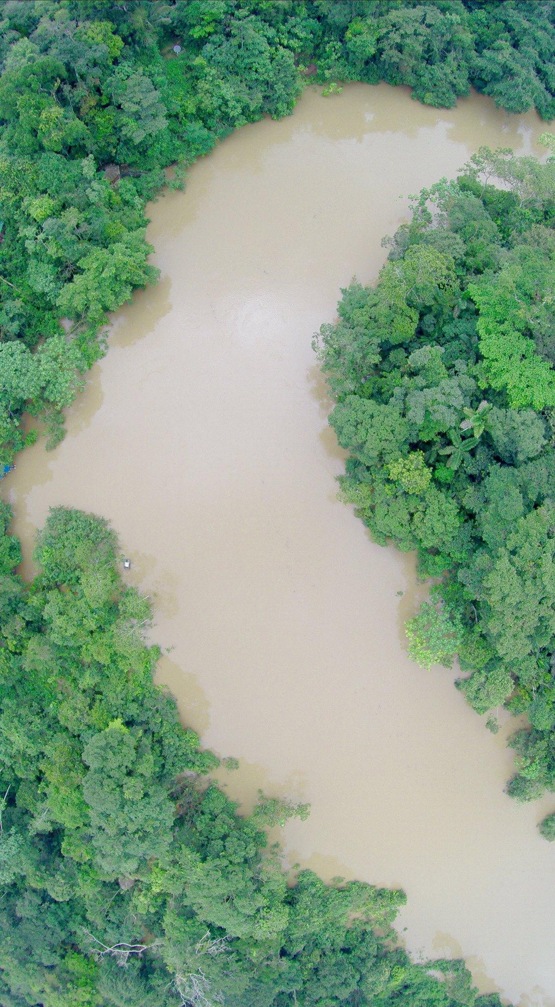 Os drones pode ser úteis para monitoramento de ambientes terrestres e aquáticos na Amazônia, diz Diego Mosquera.
