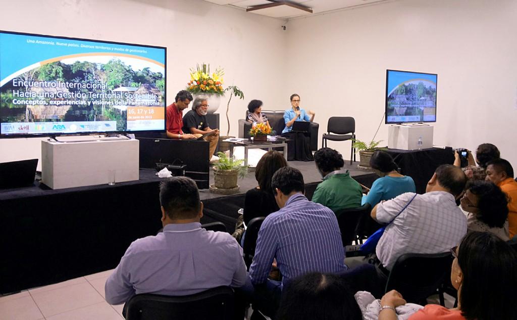 Encontro reuniu organizações pela sustentabilidade da Panamazônia e Chaco (Foto: Giovanny Vera)