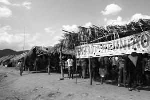 Acampamento da retomada de Planalto Serra Dourada, vila de Bom Jesus, Canaã dos Carajás