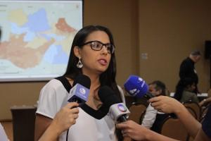 """Júlia Menezes: """"Estes dados são indicadores, […] para se precaver em casos de desastres naturais extremos"""". Foto: Florêncio Mesquita/Divulgação"""