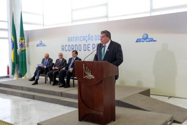 Ministro Sarney Filho, que deve acelerar implementação de políticas de economia verde no Brasil. Foto: EBC