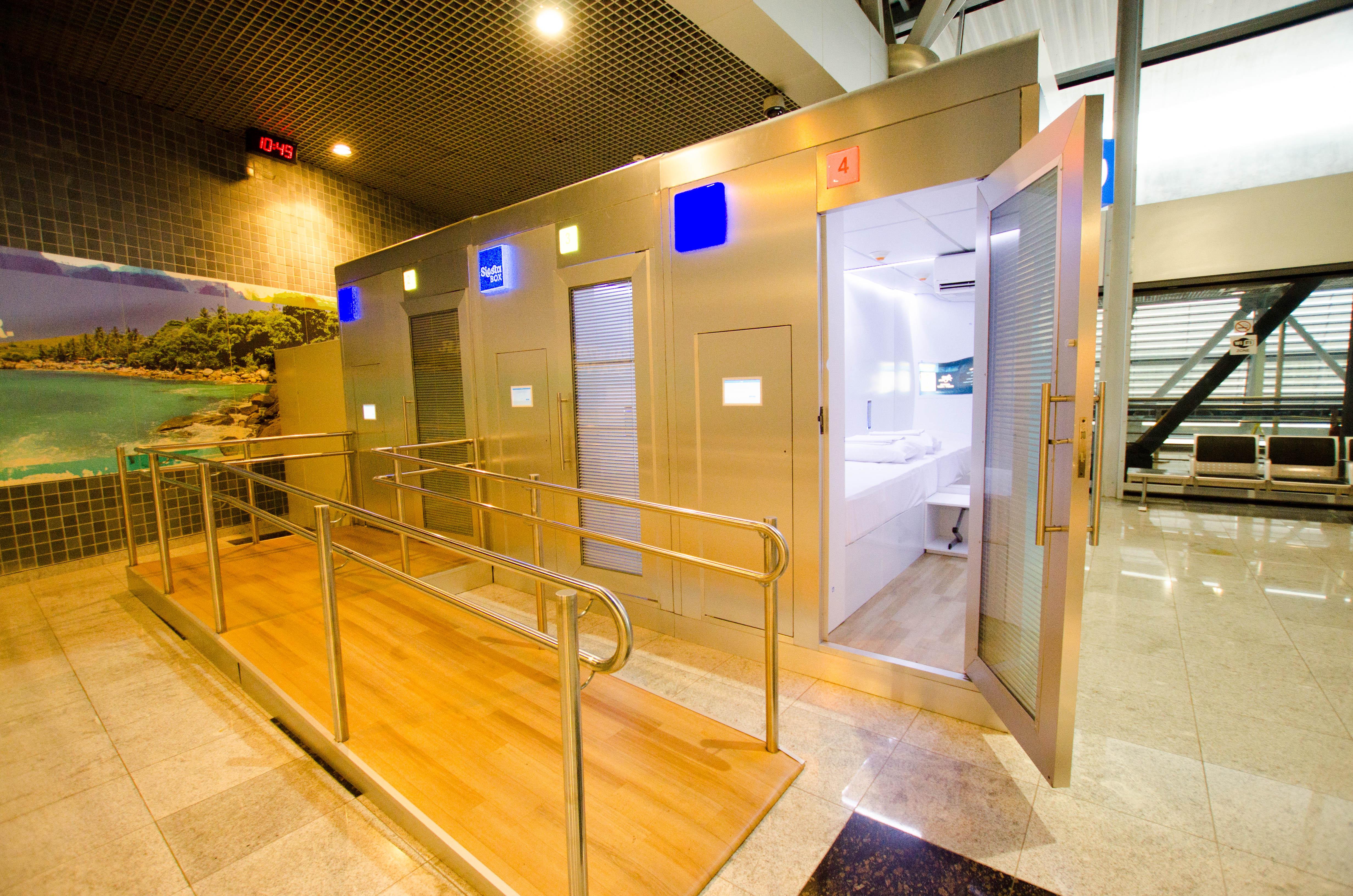 Aeroporto De Recife Tem Cabine De Descanso Automatizada Por R 50 A