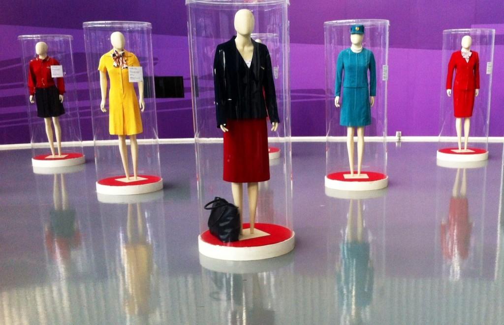 São 11 conjuntos de uma coleção particular, usados entre 1970 e 2000. Foto: Divulgação