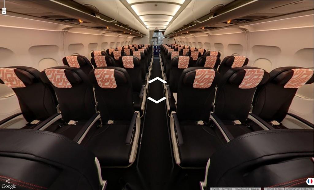 Tour virtual Airbus (Divulgação)