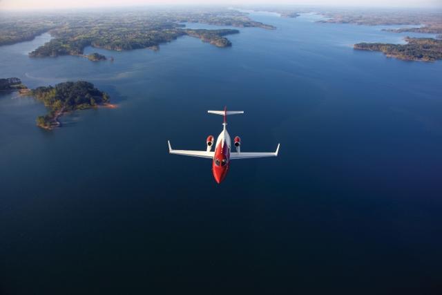 HondaJet estará em exposição na Labace (Foto: Divulgação)