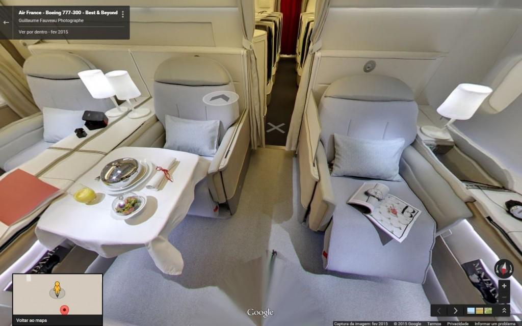 Interior Boeing 777-300 (Divulgação)