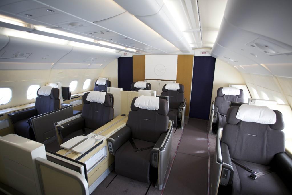 Primeira classe da Lufthansa (Foto: Divulgação)