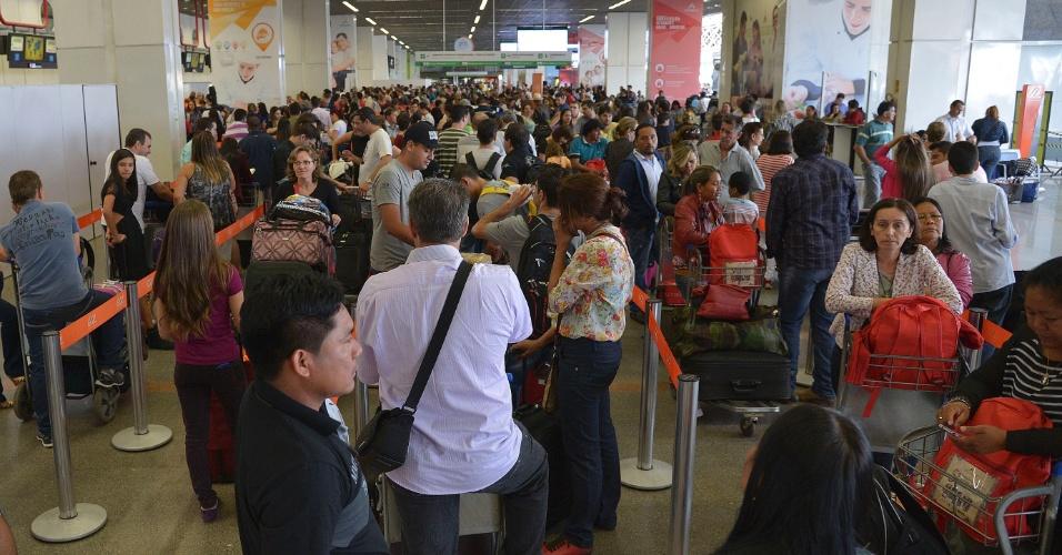 Reclamações de passageiros deram origem a ranking de aéreas (Foto: Wilson Dias)