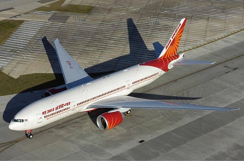 Boeing 777 da Air Índia percorre 15,3 mil km entre Nova Déli e São Francisco (Imagem: Divulgação)