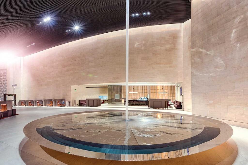 Sala VIP Al Safwa Lounge da Qatare, Doha, ganhou o selo sete estrelas (Imagem: Divulgação)