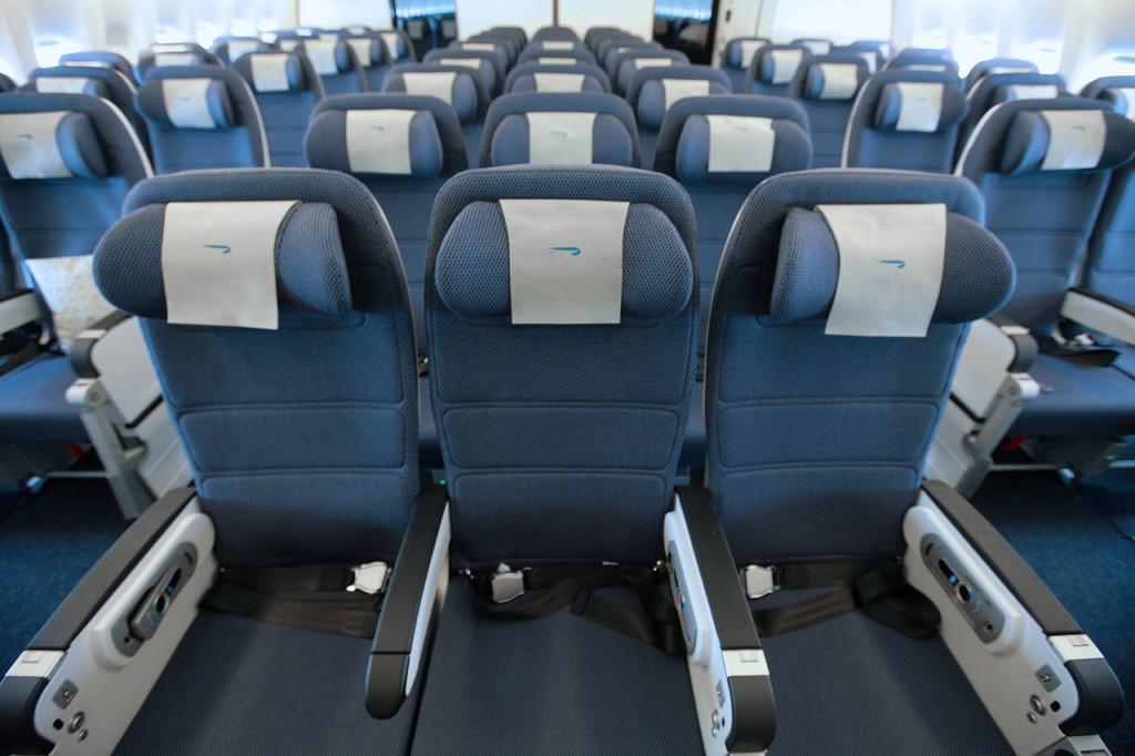 Interior de um Boeing 777-300ER da British Airways (Foto: Divulgação)