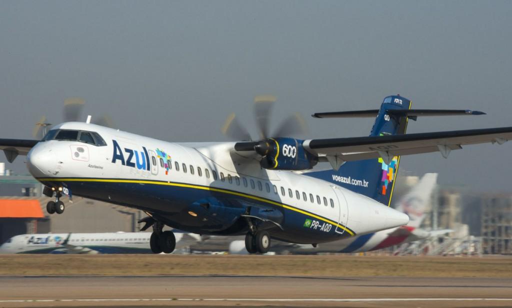 ATR 72-600 é o avião mais barato utilizado pelas companhias brasileiras (Foto: Divulgação)