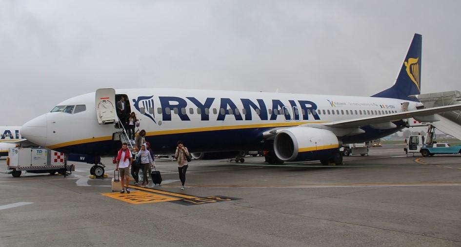 Ryanair cobra pela mudança no nome e por check-in no aeroporto (Foto: Vinícius Casagrande)