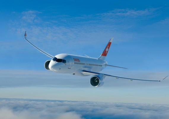 Bombardier CS100 custa US$ 76,5 milhões e é US$ 11 milhões mais caro que o Embraer 195-E2 (Foto: Divulgação)