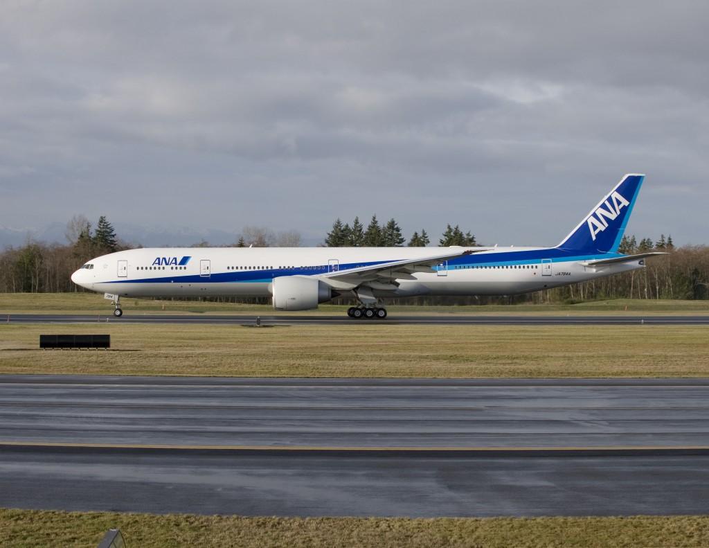 Boeing 777 da ANA será pintado com desenho escolhido pelo público (Fotos: Divulgação)