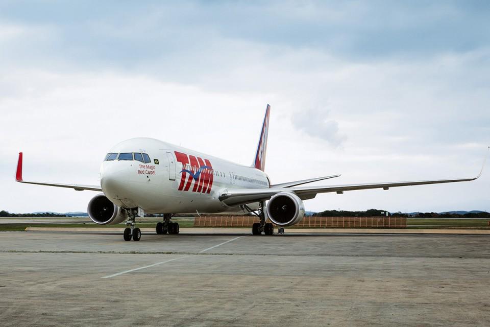 Incidente foi descoberto durante revisão geral no Boeing 767 (Foto: Divulgação)