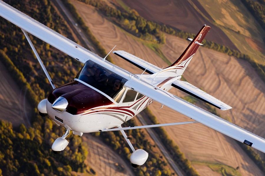 Cessna Skylane é o modelo mais popular no Brasil (Foto: Divulgação)