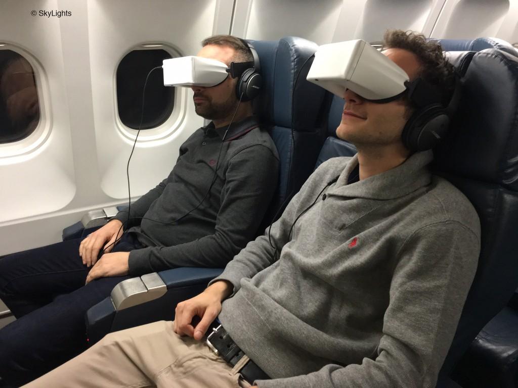 Óculos de realidade virtual. Foto: Divulgação/SkyLights