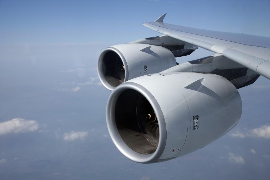 Motores do tipo turbofan são os mais utilizados pelos aviões comerciais (Foto: Divulgação/Rolls-Royce)