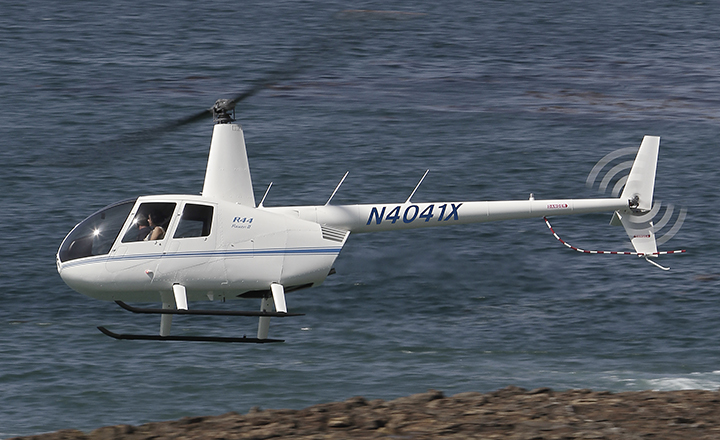 Robinson R44 II é o helicóptero mais popular no Brasil (Foto: Divulgação)