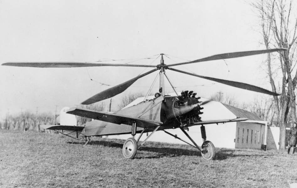 Cierva C.8 foi um dos primeiros autogiros criados (Foto:  National Air and Space Museum)