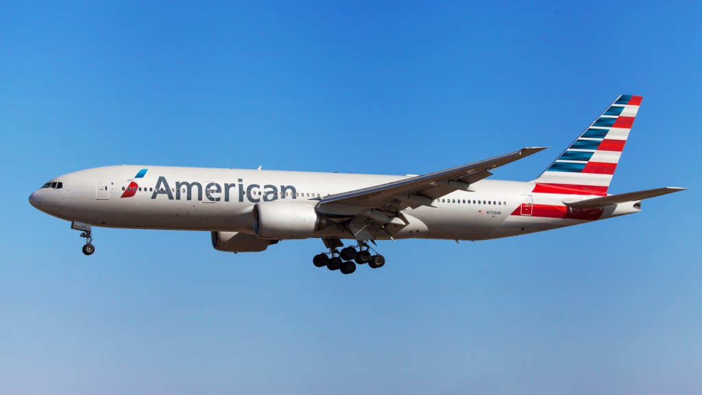 Boeing 777 da American Airlines. Foto: Santiago Rodrigues Fonto/Getty Images