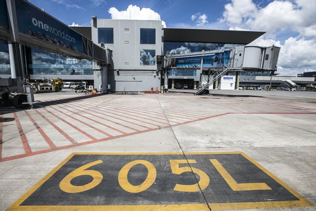 Embarque e desembarque será feito pelo portão 605 (Foto: Lucas Lima/UOL)