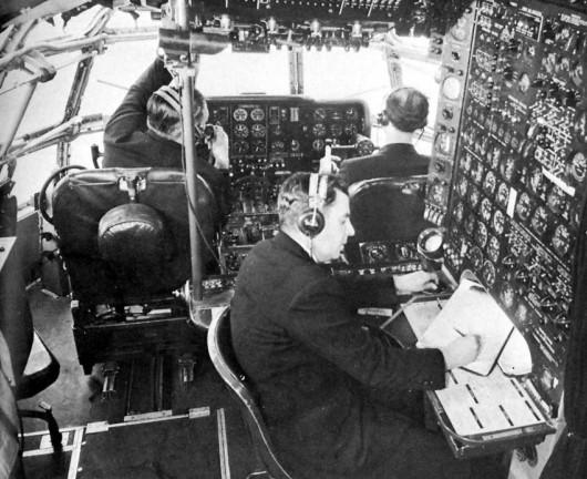 Engenheiros de voo foram extintos dos aviões modernos (Foto: PanAm Historical Foundation)