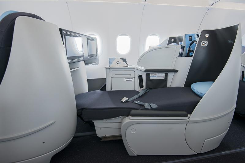 - A321 la compagnie cama - Aérea só tem poltrona executiva, serve champanhe e cobra metade do preço