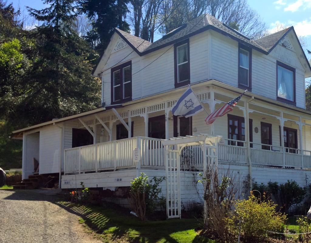 A casa da família Walsh permanece impecável, mas não é aberta ao público. (Pablo Miyazawa)