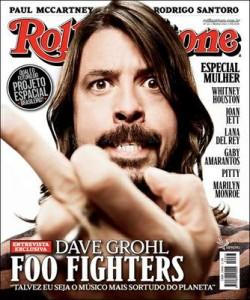"""Capa da """"Rolling Stone Brasil"""" com Dave Grohl, de março de 2012. (Reprodução)"""