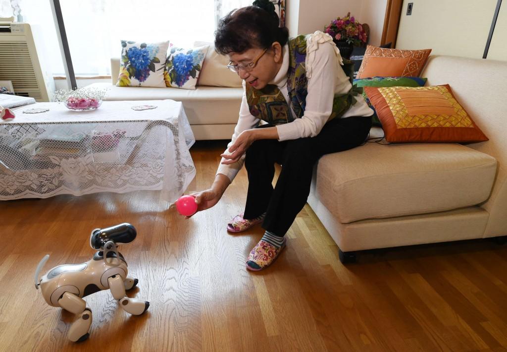 JAPAN-LIFESTYLE-ELECTRONICS-ROBOT-SONY