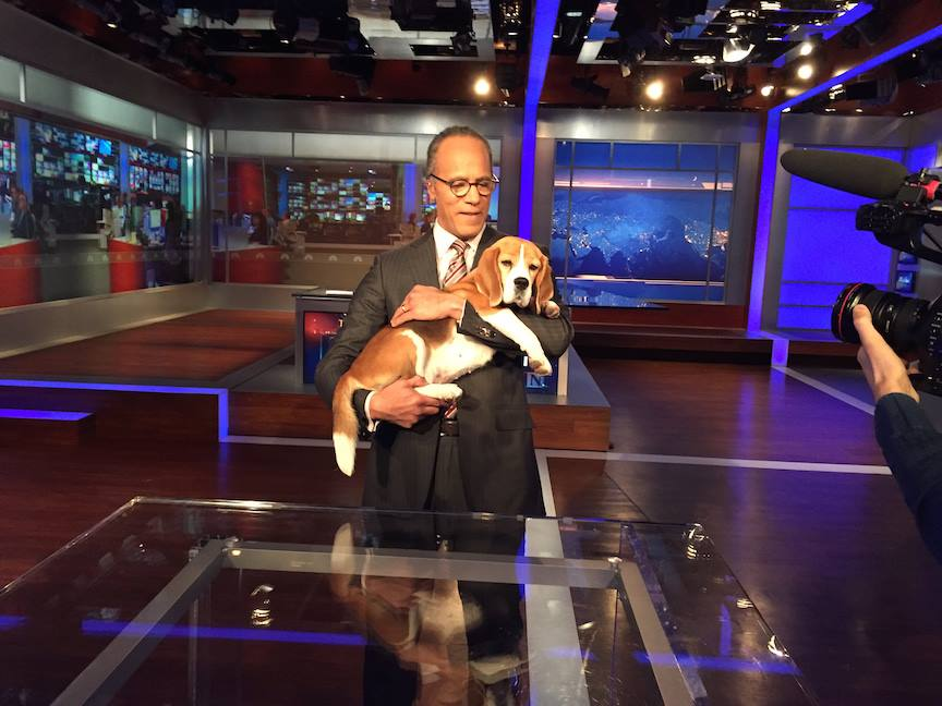 Lester Holt sign off from the Nightly News