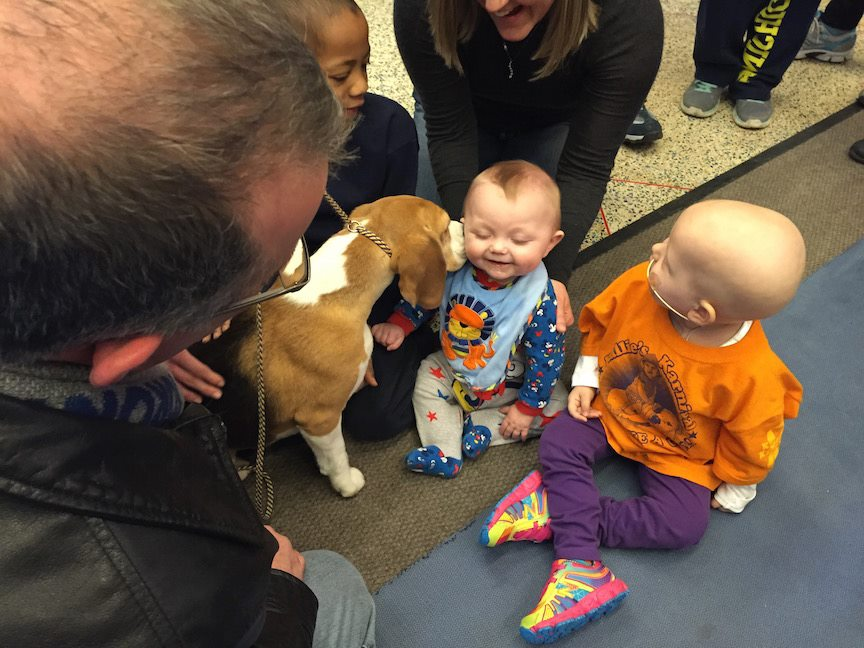 pediatric oncology patients at the Ronald McDonald House
