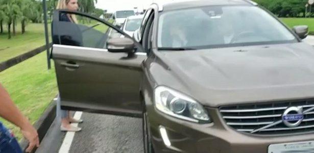 Volvo XC60 usado por Moreira Franco vai aos 210 km/h e pode frear sozinho