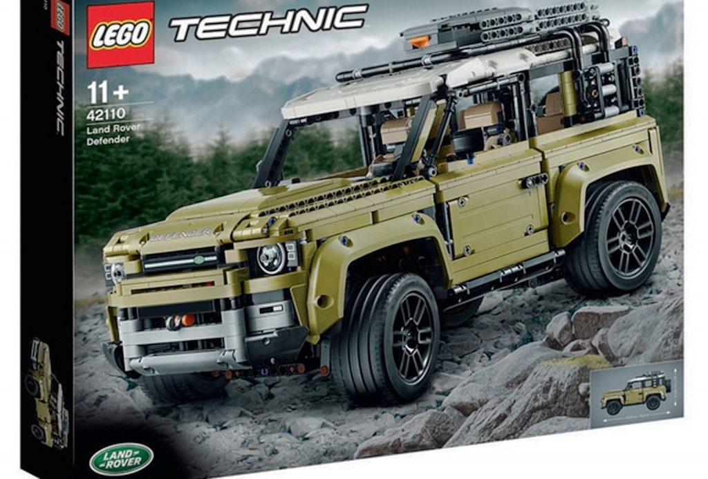 Caixa de novo kit da Lego pode ter