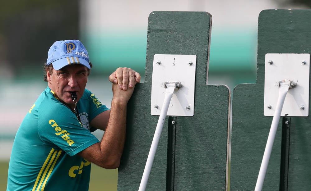 O técnico Cuca (Crédito: Cesar Greco/Agência Palmeiras)
