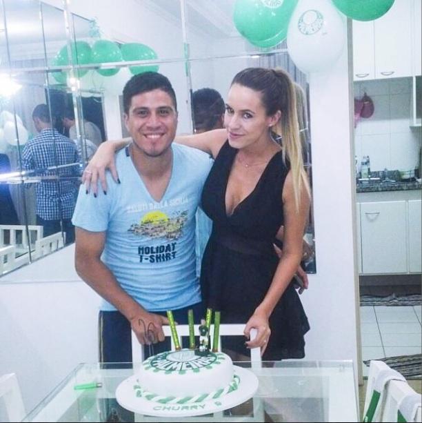 Cristaldo viu o bolo de aniversário no dia seguinte do aniversário